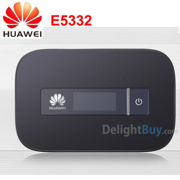 UNLOCKED HUAWEI E5332 HSPA+ 21.6Mbps Portable 3G WiFi Router,Mobile WiFi Hotspot,3G Router,MIFI, Mobile Broadband