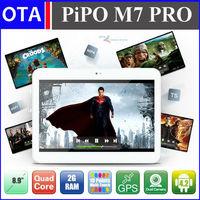 "PiPO M7 PRO 8.9"" Tablet 1920x1200 pixels Android 4.2.2 OS 2GB RAM 16GB ROM Dual Camera Bluetooth GPS WiFi mini HDMI  OTG"