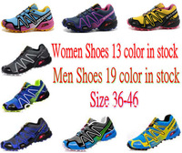 Factory Outlet ! Top Quality Zapatillas Salomon	Running Shoes for Men/Women Athletic Shoes Solomon Walking Shoes Size 36-46