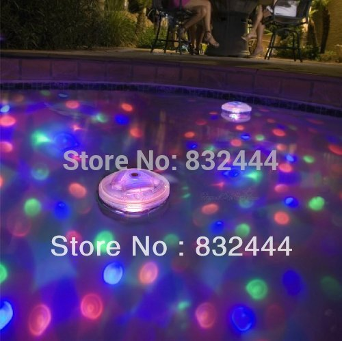 5 Light Patterns Underwater LED AquaGlow Light Show for Pond Pool Spa Hot Tub Disco(China (Mainland))