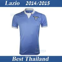 Lazio Jersey 14/15 Shirt Best Thail Quality Klose  Home Lazio 2014 2015 Soccer Jersey Lazio Sport Clothing Free Shipping