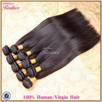 "Brazilian Hair Weaves Straight 10pc 8""-30"" Hair Wholesale Human Hair Extension Free Shipping Brazilian Cheap Virgin Hair Realove"