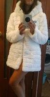 Fashion 2014 faux fur slim outerwear female medium-long overcoat  rabbit faux fur outerwear top fur faux fur coat