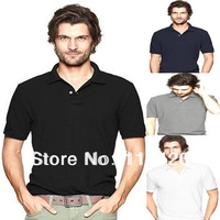 2013Hot Sale Luxury Polo t shirt Stylish Men Short Sleeve Cotton High Quality sport poloT Shirt Free Shipping
