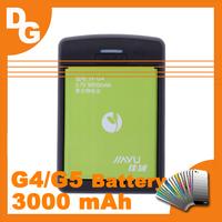 Free HongKong Post Shipping Original 3000 mAh Version Battery For JIAYU G4/G5 Android Smartphone