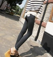 Free Shipping Hi-Q HOT SALE Long Tenths Leggings Pants for Boots Autumn Cute Cat Women's Slim Pencil Pants wholesale price