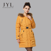 Real natural mink fur hood line woman winter fashion duck down outerwear long coat,brand women winter fur coat with hood clothes