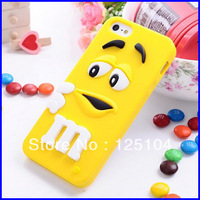 new design case For apple iphone 4 / 4s milk Chocolate fragrance cartoon Rubber 3D soft silicon phone cases cover