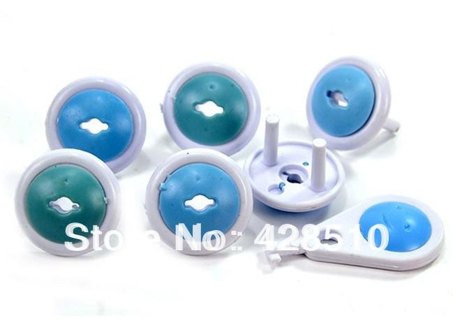 Младенцы безопасный два - фазовой электрический выход крышка жестяная банка использовать для европейский русский Sockets18pcs много