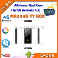 Iptv box tvee linker.HDMI Dual core Arabic TV box,MK809B MK809II free Arabic tv channels support optical with over 300 channels