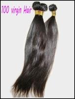 4pcs/lot mixed lengths Premium Virgin Peruvian straight hair weave bundles,silky&shiny, free DHL shipping