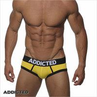 ES,ADDICTED Men's Underwear Briefs,Three Colors Available !