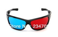 video/dvd glasses,stereoscope,supernova sale or high quality or pop shyle,red and blue about 3d Glasses,1 pcs/lot