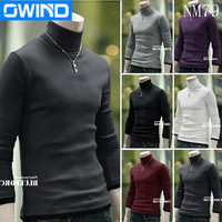 M-XXL Plus size Autumn and winter Men Cashmere pullover slim turtle neck knited sweater mens Premium Stylish Slim Fit jumpers