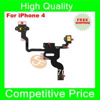 Original New Proximity Light Sensor Power Button Flex Ribbon Cable For iPhon 4 4G