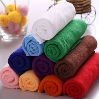 Free Shipping 10pcs/lot 30cmx70cm Microfiber Car Cleaning Towel Microfibre Detailing Polishing Scrubing Hand Towel