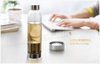 Promotion,Top tea set,NEW 2014 Heat - resistant glass teapot,550ML creative tea pot.Sturdy and durable pots.High-quality tea set