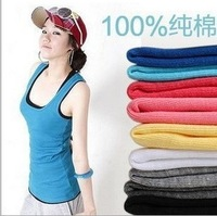 Women chiffon vest, t-shirts, multi-color optional, free shipping