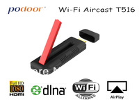 Wi-fi Aircast T516,  podoor brand, can cast pictures,videos,audio, games,MS office doc  on phone, pad, notebook to TV, projector