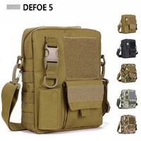 Molle Satchel Crossbody Messenger Shoulder School Leisure Bag,USA Advance Defense Ultra-light Range Tactical Gear Wholesale