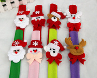 DHL Free Shipping Christmas Santa Claus wristband toys children's gifts Xmas&New Year gifts christmas decorations  Wholesale