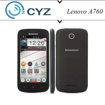 "Lenovo A760 Original White Black 4.5"" Quad Core 3G GPS Dual SIM Cards Phone 5MP Back Camera Support Russian Language"