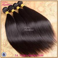 """peruvian virgin hair straight 3/4pc 8""""-30"""" peruvian straight virgin hair extension 5a unprocessed virgin hair human hair weave"""