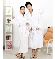 New 2013 WINTER Bathrobes Women Dressing Gown Robe Men Night Gowns Thickening Flannel lovers sleepwear male women's sleepwear