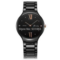 Grady hot sale fashion men quartz white ceramic watches shock resistant men's watches free shipping