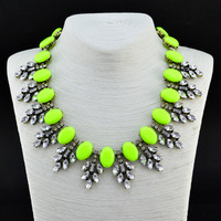 High Quality ZA Brand Necklace Vintage Plant Necklaces & Pendants  Fashion Necklace Statement Jewelry Women Wholesale