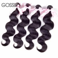 rosa hair products top quality malaysian body wave 4pcs free shipping malaysian virgin hair human hair weave soft hair extension