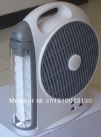 With Battery Operated Fan, Rechargeable LED Emergency Light , Portable Lantern, LED Lighting, For Indoor/Outdoor Use, 2013 New