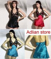 Very Sexy Women sleepwear (SL002) Ladies night gown sexy underwear Nighties Free Shipping High Quality lingeries