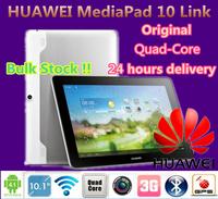 Original huawei mediapad 10 link Android 4.1 quad core tablet pc 1280x800 1GB RAM 8GB ROM 5.0MP Camera 3G(WCDMA) GSM