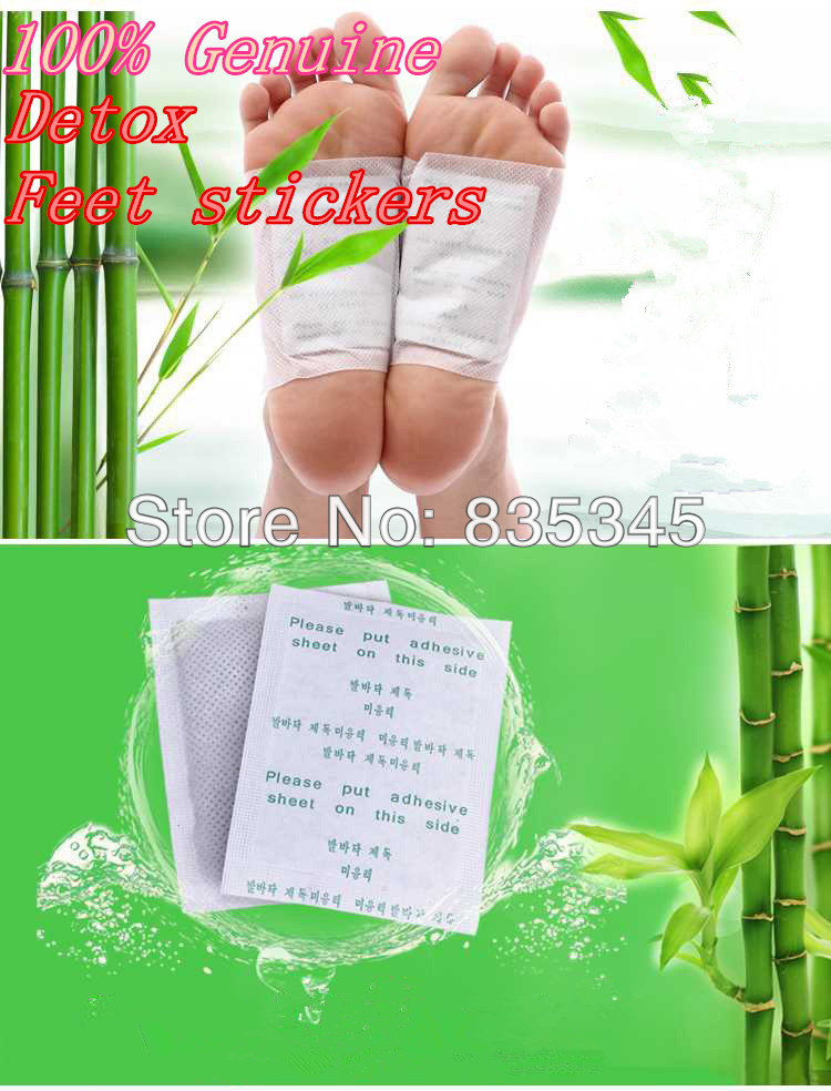 100%Genuine! Feet Care Detox Foot Patch Improve Sleep Slimming Foot Care Feet stickers (200 = 100 pcs Patches+100 pcs Adhesives)(China (Mainland))