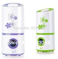 Free ship Ultrasonic humidifier mute household purifying air spray mini Ultrasonic Sterilization Oxygen Bar, Aromatherapy
