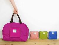 Free Shipping Foldable Multi Function Storage Shoulder Travel Pack Poly Sport Large Street Shopper Bag Hobo Organizer Wholesales