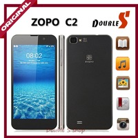 Free Shipping 100% Original ZOPO C2 Quad Core Phone 2GRAM+32GROM MTK6589t 1.5GHz Android 4.2 WCDMA Phone 5'' FHD