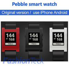 free shipping free gift 2014 Original package smart Watch pebble watch electronic watch gear watch for