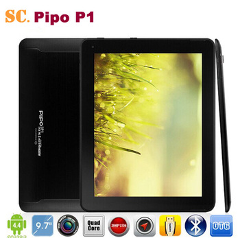 Original 9.7 Inch PiPO P1 3G RK3288 Quad Core Tablet PC Retina 2048*1536 Android 4.4 8.0MP Camera GPS Bluetooth 2G 32GB HDMI