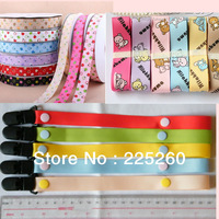 2013 New Hand made grosgrain ribbon Funny dummy clip/holder pacifier clips for baby D002
