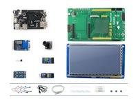 Cubieboard Package B= Cubiebord A10 1GB DDR3 RAM Cortex-A8 Mini PC + DVK521 + LCD+ Camera+5 kits Cubieboard 1 better than RPi