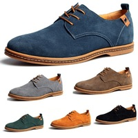 Men's shoes 2013 new fashion cow muscle genuine leather shoes autumn spring wholesale free shipping