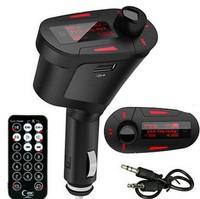 FM Transmitter Car MP3 Player Wireless FM Transmitter With USB SD MMC Slot Car MP3 Player