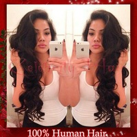 """New sexy curly hair100%unprocessed brazilian virgin human hair full lace front wigs bleached knots for black woman 22""""picture"""