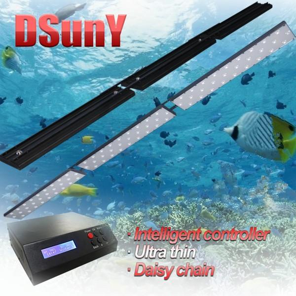 "180cm/72""/6ft Programmable Timer LED Saltwater Aquarium Fish Tank Marine Coral Reef Grow Light Hoobie Bug Euphotica(China (Mainland))"