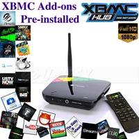 [US880] U-SEEK Free Shipping!!CS968 Android 4.4 RK3188 Quad Core 2G/8G Full HD 1080P Smart TV Box with 2.0MP Webcam XBMC Install