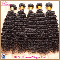 "Realove hair brazilian deep wave brazilian virgin hair wholesale 8""-30"" 10pc human hair extensions cheap brazilian curly hair"