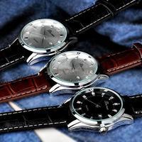 Mens quartz Stainless Steel precision Military Men watch Business wristwatches waterproof Dropship, Hot sale 3 Colors 19424