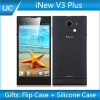 INew V3 Plus Mobile Phone iNew V3 iNew V3C 5 Inch  Quad Core 16GB 5/13MP Dual Camera GSM WCDMA GPS WIFI Android 4.2 RAM 1GB R